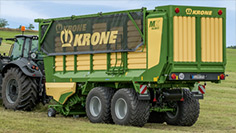 Forage wagons and trailers
